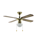 Lampa cu ventilator TIGGANO aged brass 220-240V, 50Hz
