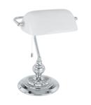 Lampa de masa BANKER chrome 220-240V,50/60Hz IP20