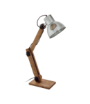 Lampa de masa FRIZINGTON brown, negru 220-240V,50/60Hz