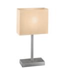 Lampa de masa PUEBLO 1 satin nickel 220-240V,50/60Hz IP20
