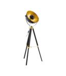 Lampa pardoseala COVALEDA negru, brass, gold 220-240V,50/60Hz