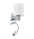 Lampa perete HALVA chrome 220-240V,50/60Hz
