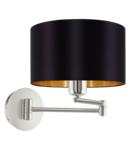 Lampa perete MASERLO satin nickel 220-240V,50/60Hz IP20