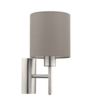 Lampa perete PASTERI satin nickel 220-240V,50/60Hz