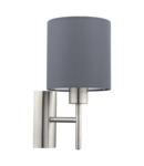 Lampa perete PASTERI satin nickel 220-240V,50/60Hz