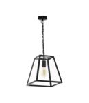 Lampa suspendata AMESBURY 1 negru 220-240V,50/60Hz