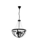 Lampa suspendata BARNABY 1 negru 220-240V,50/60Hz