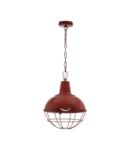 Lampa suspendata CANNINGTON 1 patina red 220-240V,50/60Hz