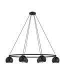 Lampa suspendata CANTALLOPS negru 220-240V,50/60Hz