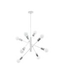 Lampa suspendata GRADOLI alb, chrome 220-240V,50/60Hz