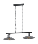 Lampa suspendata KENILWORTH negru 220-240V,50/60Hz