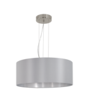 Lampa suspendata MASERLO satin nickel 220-240V,50/60Hz IP20
