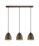 Lampa suspendata SAFI brown, gold 220-240V,50/60Hz