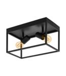 Lampa tavan SILENTINA negru 220-240V,50/60Hz