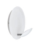 Lampa tavan/perete CERTINO alb, satin nickel 220-240V,50/60Hz