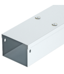Canal cablu cu un compartiment 50 FS, cover with turn buckle | Type ST66