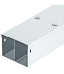 Canal cablu cu doua compartimente 50 FS, cover with turn buckle | Type ST63-2EC