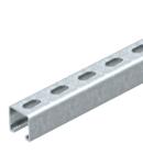 MS4141 sina montaj, slot width 22 mm, FS, perforated | Type MSL4141P3000FS