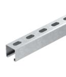 MS4141 sina montaj, slot width 22 mm, FS, perforated | Type MS4141P1000FT