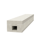 Fire protection duct I120/E90, internal height 50 mm | Type BSK 120506