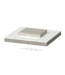 End piece I120/E90 for internal height 50 mm | Type BSK-E120521
