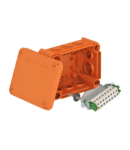 Doza antifoc T100ED for data technology with internal fastening | Type T 100 ED 4-10 D