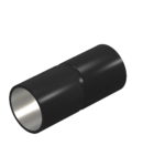 Manșon negru din oțel acoperit cu pulbere, fără fir | Type SV63W SW