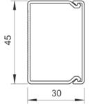 Trunking, type WDKH-30045 | Type WDKH-30045LGR