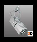 Corp iluminat Estra 10 argintiu Brilux
