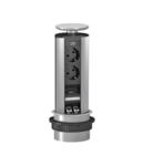 Priza de blat- DBV, 2 sockets, HDMI, 2x RJ45 Cat. 6 | Type DBV-MHA3E D2S2K