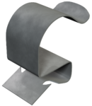 Beam clamp, for pipes | Type BCC 2-4 D5,5