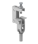 Screw-in beam clamp, with hinge | Type TK FL G