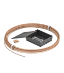 Addition set with CU cable and Equipotential busbar in concealed housing | Type FUER2