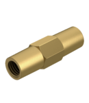 Coupling for earth rod with thread | Type 2019 16