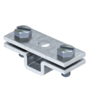 Spacer clip for flat conductor, with fastening hole Ø 7 | Type 832 30