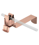 Roof conductor holder for tiled roofs, angled, flexible, Rd 8, CU | Type 157 FX-CU