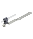 Roof conductor holder for slated roofs, crimped, Rd 8−10, A2   Type 157 EK-VA