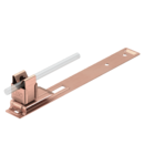 Roof conductor holder for slated roofs, Rd 8, CU | Type 157 L-CU