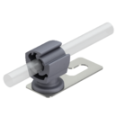 Roof conductor holder for tiled, slated and corrugated roofs, Rd 8−10 | Type 159 K-VA