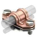 Universal bi-metal separating piece, Rd 16 copper, Rd 8-10 A2 | Type 226 ZV CU