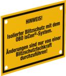 Information panel | Type isCon HWS EN