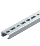 CM3518 profile rail, slot 17 mm, FS, perforated | Type CML3518P0200FS