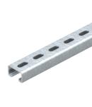 MS5030 sina montaj, slot 22 mm, FT, perforated | Type MS5030P0400FT