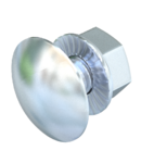 Truss-head bolt with flange nut F | Type FRSB 6x30 F