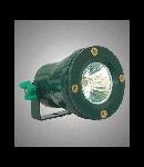 Corpuri de iluminat cu halogen ermetice W-68 Verde