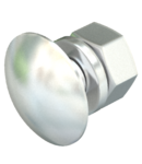 Truss-head bolt with nut and washer A2 | Type FRS 6x16 A4