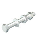 Hexagonal bolt with nut and washer A4 | Type SKS 10x80 A5
