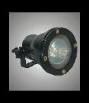 Corpuri de iluminat cu halogen ermetice W-70 Negru