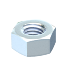 Hexagonal nut ISO 4032 | Type DIN934 M8 F