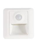 Lampa incastrata in perete cu senzor de miscare LED 1W Kristal